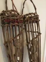 Willow bird feeders